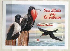 FAUNA_885 1998 Antigua BARBUDA MAIL OVERPRINT birds Combined payments & shipping