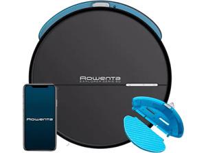 Robot aspirador - Rowenta RR7455WH Explorer s60 Animal Care + Connect  Negro