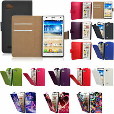 Synthetic Leather Mobile Phone Flip Cases for LG