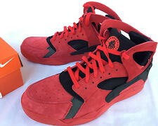 Nike Air Flight Huarache 705005-600 Red Love Hate Pack Basketball Shoes Men's 10