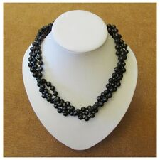 "Shungite necklace ""Veronica"""