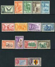 Sarawak-Set 1950 a 5 DOLLARI SG 171-185 montata Nuovo di zecca v12334