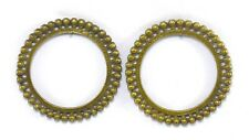 Collectible Vintage Metal Kada G18-63 Us Old Indian Women's Brass Made Bangles –