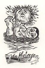Ex Libris Lou Strik : Opus 76, Jan Rhebergen