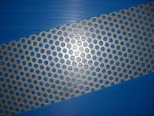 BUCHERT Stahl - Lochblech-roh-Rv 10-15/3 mm-z.B. Kohlerost - Größe+Maß-Zuschnitt