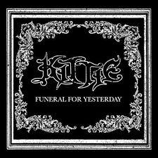 Funeral for Yesterday [Bonus DVD] by Kittie (CD, 2007, Merovingian) SEALED
