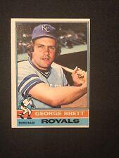 1976 Topps George Brett #19 EX Kansas City Royals HOF *8