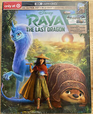 RAYA AND THE LAST DRAGON 4K ULTRA HD + BLU RAY TARGET EXCLUSIVE LITHOGRAPHS