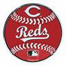 "MLB Officially Licensed Baseball Cincinnati Reds Aluminum Emblem 3.25""x3.25"""