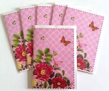 Grußkarten mit Umschlägen 6 Stück Blumen Gruß Edition Tausendschön GB 152 OT