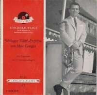 """Max Greger Und Sein Orchester - Schlager-Tanz-Express Mi 7"""" Vinyl Schallpla 8577"""