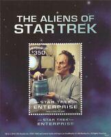 Liberia - 2016 Star Trek Aliens - Stamp Souvenir Sheet - 12A-068