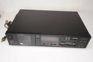 Vintage Akai GX-A5X Casette Tape Deck Made in Japan *Tested, Looks & Works Nice*