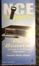 NCE 45 PB5 5 AMP Power Booster & Power Supply NCE Digitrax DCC MODELRRSUPPLY