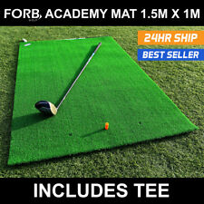 Golf Hitting Mat - FORB 1.5m x 1m Garden Golf Mat - Driving Practice Golf Mat