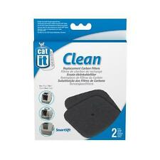 CATIT CLEAN REPLACEMENT CARBON FILTERS 2 PACK