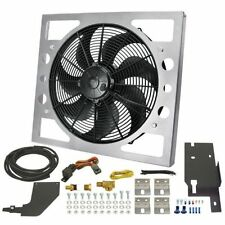 Derale 20161 Direct Fit Performance Electric Fan Kit 1918 CFM for Jeep Wrangler