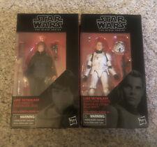 ?Star Wars Black Series Jedi Knight & Death Star Escape Luke Skywalker Exclusive