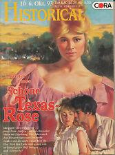 Kristin James Schöne Texas-Rose Cora Historical Western Vernunftehe Liebe Rache