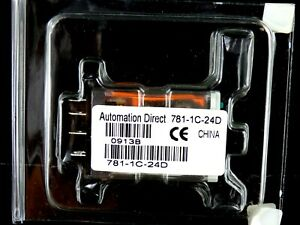 NEW Automation Direct 781-1C-24D Ice Cube Control Relay, 5PIN, 15A, 7811C24D