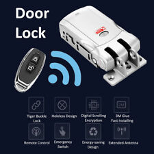 Remote Control Door Lock Wireless Electronic Anti-theft Home Security Keyless