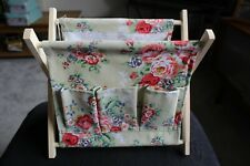 MAGAZINE RACK /WOOL HOLDER