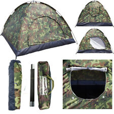 Family Camping Tents 3-4 Person Outdoor Camping Waterproof Camouflage Hiking US