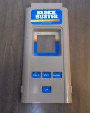 Vintage Microvision Block Buster Game Cartridge Milton Bradley