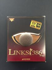 Links 386 Pro MS DOS Golf Game by Access Software - Includes Prairie Dunes Disc