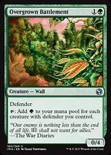 MRM ENGLISH 4x Rempart luxuriant (Overgrown Battlement) MTG magic IMA