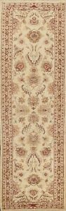 Traditional Peshawar Oriental Floral Runner Rug Hand-knotted Hallway 3x10 Carpet