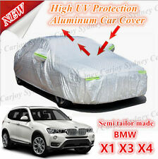 Premium Semi Tailor Made Waterproof Aluminum Car Cover SUV Size BMW X1 X3 X4