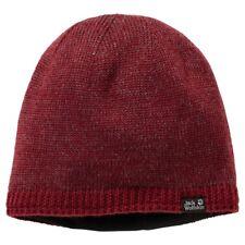 Jack Wolfskin Stormlock Foggy Beanie Cap - Dark Red (One Size)