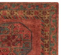 Old Hand Made Red Traditional Parsian Oriental Ziegler Style Wool Area Rug