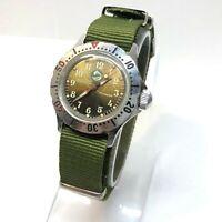 Vintage Soviet Ussr Mechanical Vostok wostok Wrist Watch 17 jewels Dolphin Rare