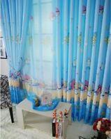 Luxury Disney ANGRY BIRDS Net Curtain Slot Top 100CM X 265CM