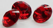 12x SWAROVSKI ELEMENTS Kristall Deko rot Light Siam