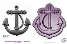 ANCHOR Large Craft Silicone Rubber Sugarcraft Fimo Soap Crayon Mould Mold