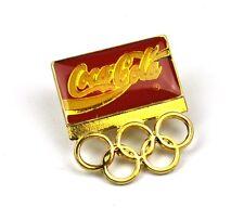 Coca Cola Coke EE.UU. Solapa Pin Botón Divisa Pin de solapa - Olympia Anillos