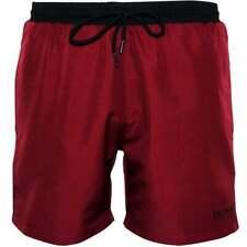 Hugo Boss Men/'s Stella Marina Swim Pantaloncini in Navy Blu//Rosso NUOVO con etichetta prezzo consigliato £ 45 Taglia Large