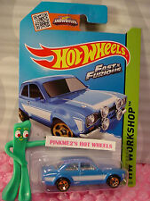 2009 Hot Wheels #5 Treasure Hunt T-hunt '37 Ford #47 1937 azul Aqua