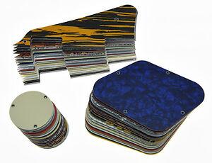 LP Pickguard & Rear Plate Switch Cavity Covers for Epiphone Les Paul 20 Colors