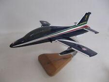 Aermacchi 339 MB-339 Frecce Tricolore Airplane Wood Model