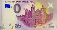 BILLET 0  EURO CASTELO DE SANTA MARIA DA FEIRA  PORTUGAL 2018  NUMERO 100