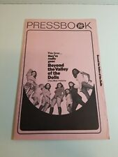 Vintage 1970 Beyond The Valley of The Dolls Pressbook Complete