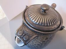 Antique Reed and Barton Aesthetic Silver plate tea/coffee Pot ceramic liner