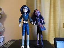 Monster High Scare Mester Invisi Billy Boy Doll and Jane Boo Little