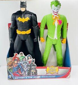 Batman & The Joker 20 Inch Figures Dc Comics JAKKS Pacific 2014
