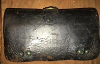 Rare 1872 Indian Wars Leather 45-70 Cartridge Box Fraziers Patent McKenney NY