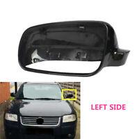 Fit For VW Golf MK4 IV Passat B5 Bora Black Left Side Wing Mirror Cover Casing